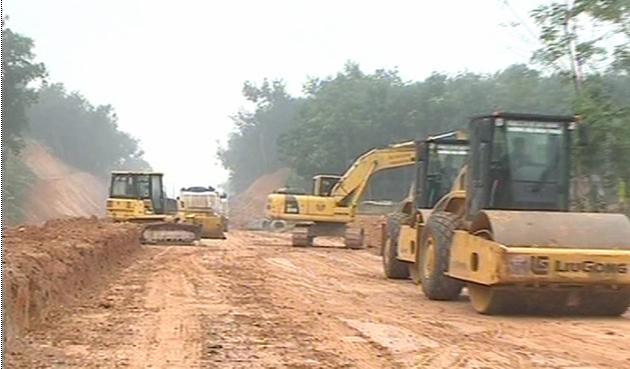 Dự án đường giao thông từ QL47 đến đường Hồ Chí Minh, huyện Thọ Xuân, tỉnh Thanh Hóa
