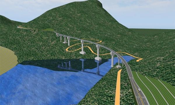 Ngày 27/2, khởi công Dự án đường nối cao tốc Nội Bài – Lào Cai đến Sa Pa