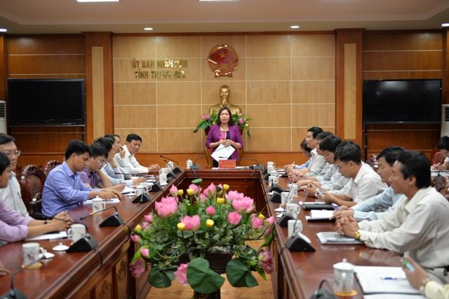 Bảo đảm tiến độ thực hiện các dự án tại Khu Kinh tế Nghi Sơn