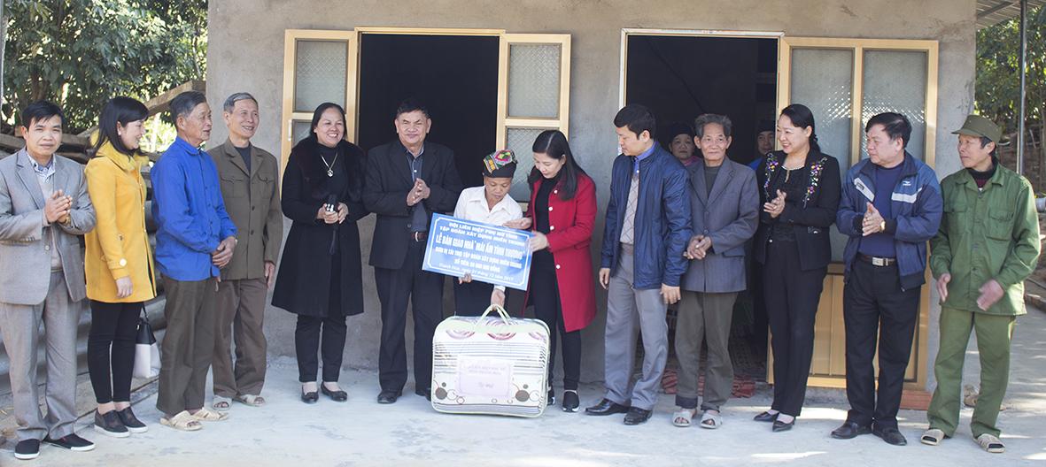 Tập đoàn Xây dựng Miền Trung đồng hành cùng Hội Liên hiệp Phụ nữ tỉnh Thanh Hóa trong cuộc vận động xây dựng